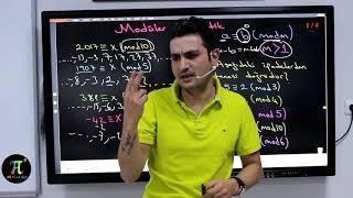Modüler Aritmetik 1  - Konu Anlatımı ve Soru Çözümleri | Ali Ahsen AKTİ