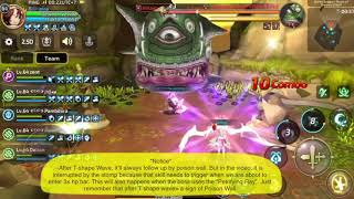 Dragon Nest M (SEA) - Spirit Dancer in GDN stage 3, Kelaketh keth keth keth keth keth boom boom boom