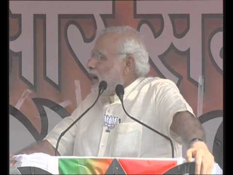 PM Modi's speech at Parivartan Rally in Muzaffarpur, Bihar