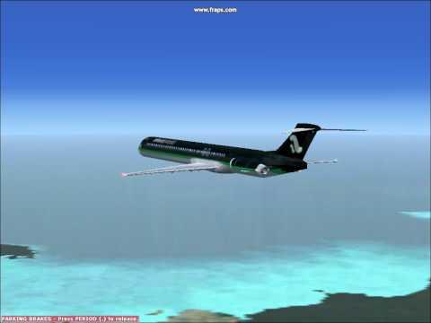 FSX Air Traffic Airwave Airlines Boeing MD-83