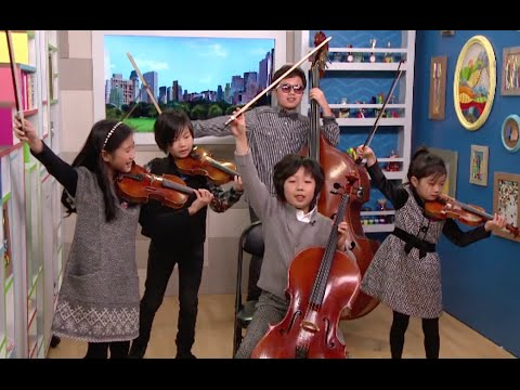 Youngest String Quartet Ever_Ode to Joy ft. 6-year-old Christine Yu