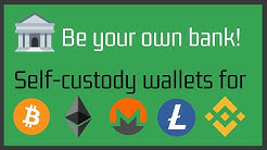 Self-custody wallets for Bitcoin, Ethereum and other digital assets (non-custodial)