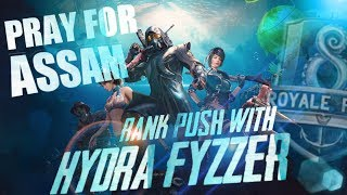 🔴PRAY FOR ASSAM | 12 HOURS CHARITY LIVESTREAM! PLEASE DONATE !! Ft. HYDRA FyzZeR 👣💣🔫