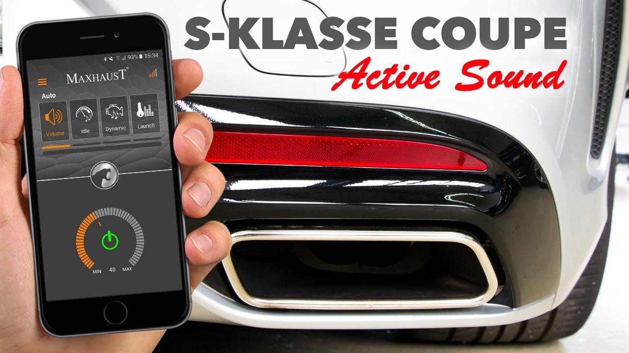 mercedes s klasse coupe swarovski by maxhaust soundbooster. Black Bedroom Furniture Sets. Home Design Ideas