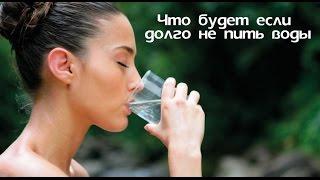 Что будет,если не пить воды долго