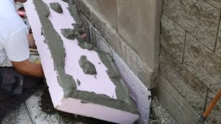 Zateplení soklu polystyrenem ISOVER EPS SOKL 3000