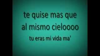 Daddy Yankee - Ella me levanto CON LETRA