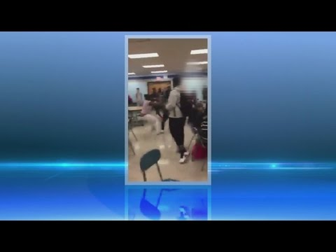 Caught on camera: Lackawanna High School fight breaks out in cafeteria
