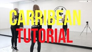 Lotte & Laura | SBMG - Caribbean (Dancehall Dance Tutorial) #Dutch | OrokanaWorld