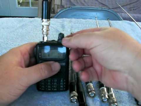 2 meter Hand Held Antenna Comparisons
