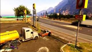 Worlds Biggest Tow Truck Pull In GTA 5