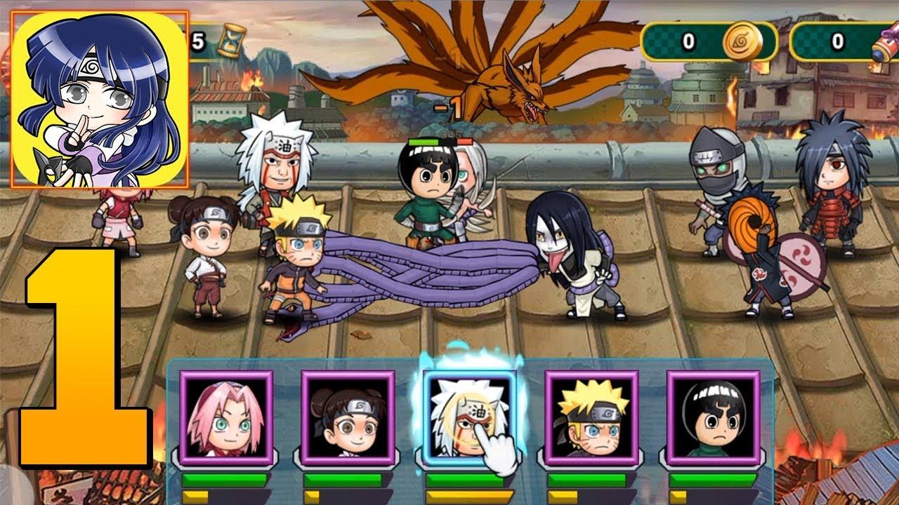 download game ninja saga offline mod apk
