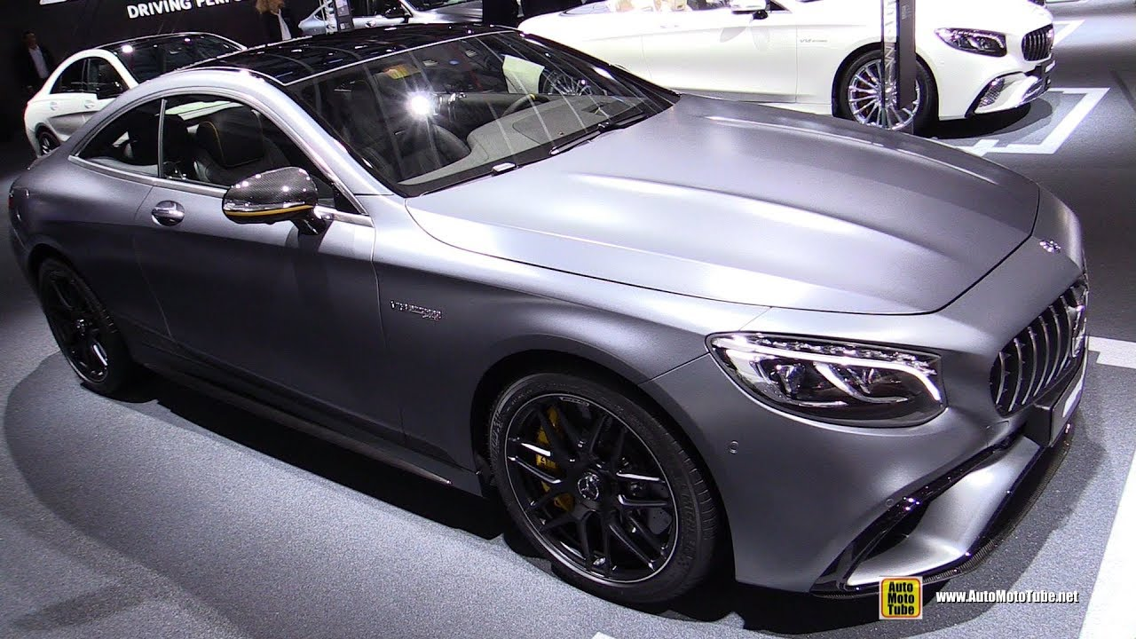 2018 Mercedes AMG S63 4Matic+ Coupe Yellow Night Edition ...