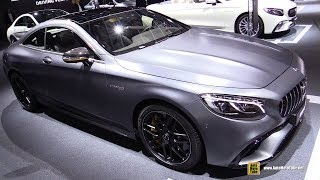 2018 Mercedes AMG S63 4Matic+ Coupe Yellow Night Edition - Walkaround - 2017 Frankfurt Auto Show