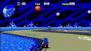 Sonic CD (Xbox 360): Special Zone Gameplay