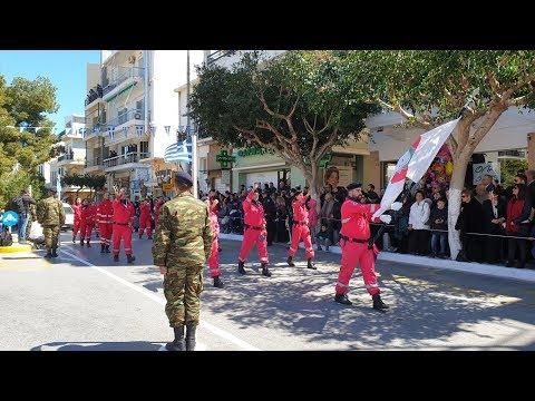 Παρέλαση 25ης Μαρτίου 2019 στον Αγ. Νικόλαο