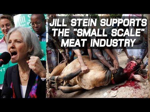 Jill Stein: Fake Vegan (Green Party, U.S.A.)