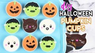 How to Make Halloween Pumpkin Cups!