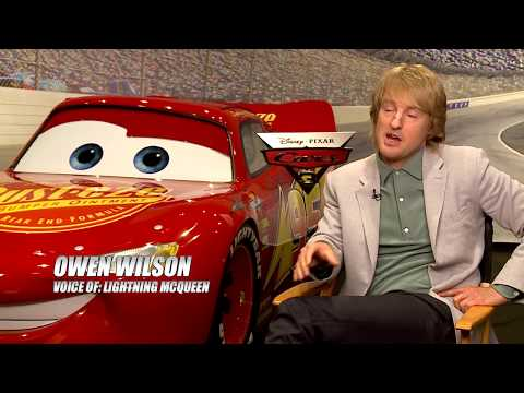 CARS 3 Interview - Don't Count Lightning McQueen Out