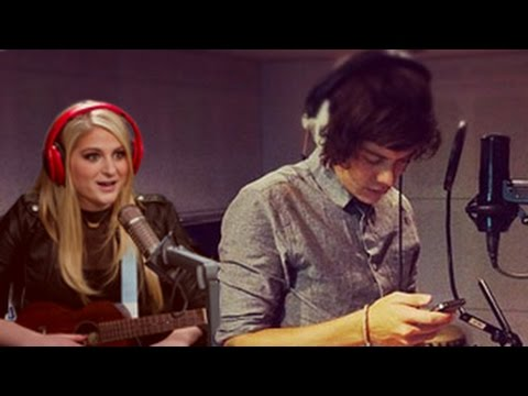 Harry Styles And Meghan Trainor Working Together On A'Special' Song