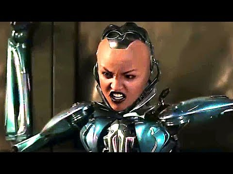 Awesome Android Fight Scene ! - ALITA BATTLE ANGEL