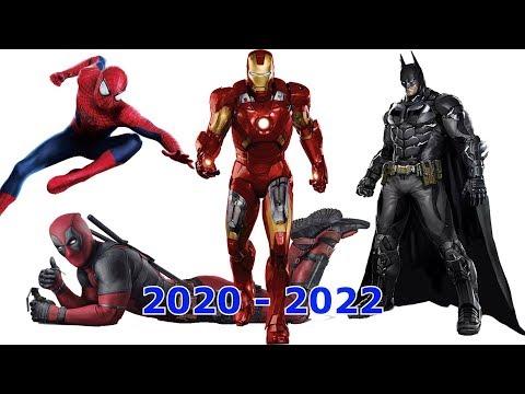 Самые ожидаемые супергеройские