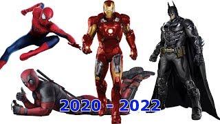 Самые ожидаемые супергеройские фильмы 2020-2022