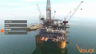 Real Visual - Oil Rig Training Simulation Demo