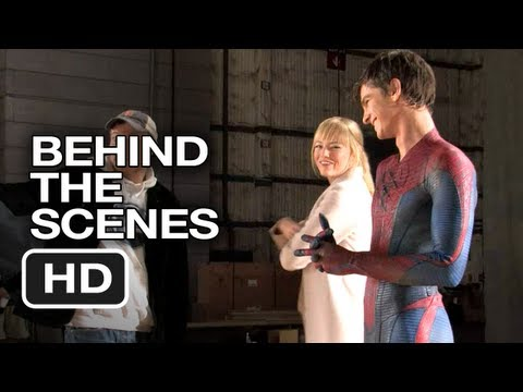 The Amazing Spider-Man - Behind the Scenes - Screen Test (2012) Andrew Garfield, Emma Stone Movie HD