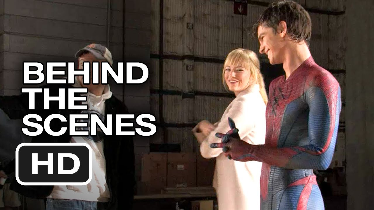 The Amazing Spider-Man – Behind the Scenes – Screen Test (2012) Andrew Garfield, Emma Stone Movie HD