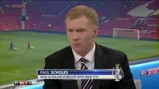 Paul Scholes has his say on David Moyes