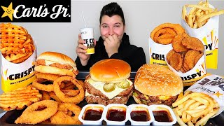 I just cheated on Orlin.....Carl's Jr. • MUKBANG