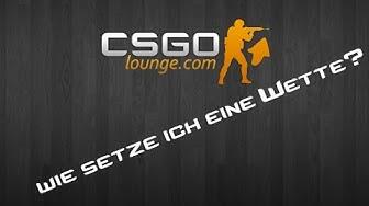 """CSGO Lounge Bet Tutorial 1/2 (German) """"Wie setze ich eine Wette?"""""""