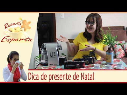 Dica de presente de Natal - Máquina de Café Expresso UTAM