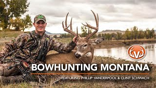 Bowhunting Montana Pope & Young Bucks: Beautiful over the shoulder 25 yard shot | The Virtue TV
