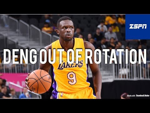 Luol Deng Out Of Lakers