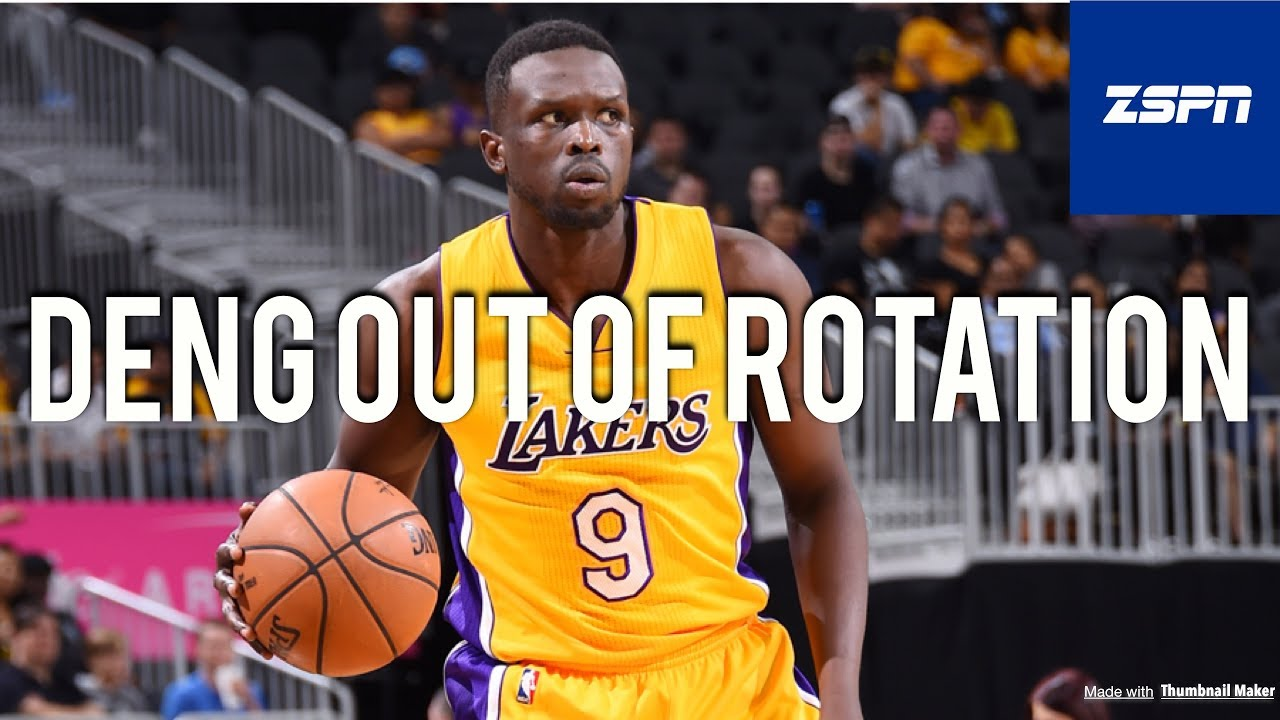 Luol Deng Out Lakers Rotation