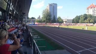 Finał 400 metrów kobiet (slow motion). Triumf Patrycji Wyciszkiewicz 51.95