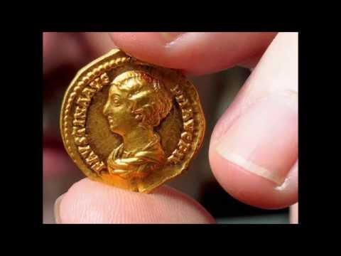 2650 Roman gold coins discovered in Trier (Germany) - Trierer Goldmünzenschatz