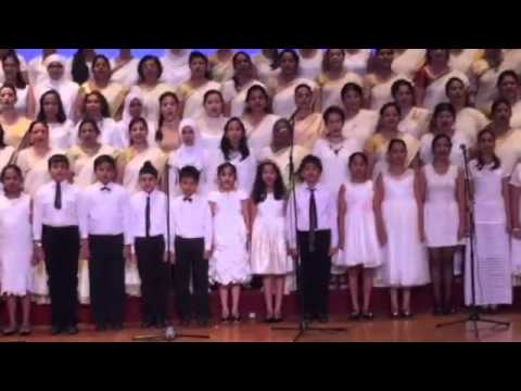 2nd Oct choir (Indonesia Raya + Jana Gana Man)