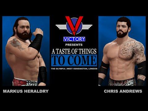 WWE2K16: Chris Andrews vs. Markus Heraldry