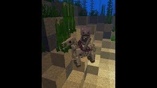 Minecraft 1.13 avec Violette, la pêche à la selle et à l'arc
