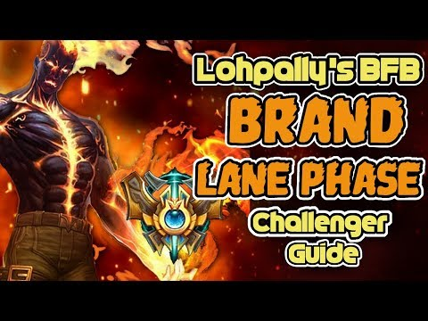 How To CARRY And CLIMB As BRAND! | CHALLENGER SUPPORT Lohpally's BFB:  A Brand Laning Phase Guide