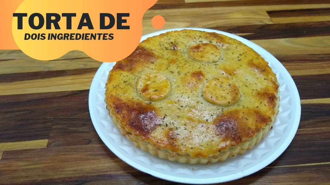 TORTA SALGADA SÓ COM 2 INGREDIENTES! | Chef Marcos Aurélio