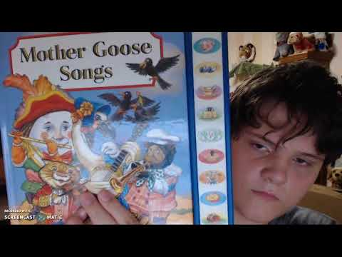 play a song book mother goose songs