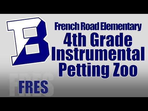 FRES 4th Grade intrumental Music Petting Zoo