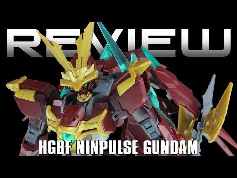 HG Ninpulse Gundam Review - GUNDAM BUILD FIGHTERS 忍パルスガンダム レビュー