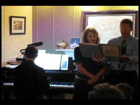 Michael & Sheila Huntsman vocal duet, Emeline Huntsman violin, David Ord piano accompaniment
