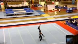 Gimnasia acrobatica china juegos mundiales 2013