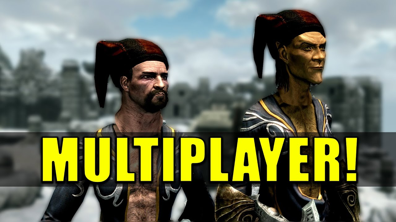Skyrim Multiplayer Is BROKEN But AMAZING! - Skyrim Together Mod In 2020 thumbnail